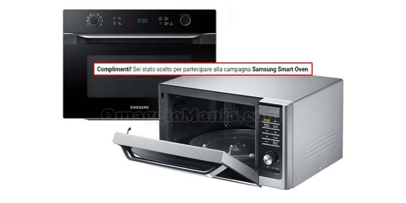 forno Samsung Smart Oven HotBlast selezione