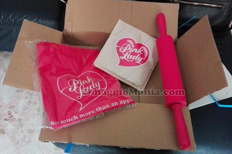 kit da cucina Pink Lady di Giorgia