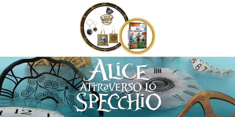 Vinci gratis i gadget di alice attraverso lo specchio - Alice attraverso lo specchio kickass ...