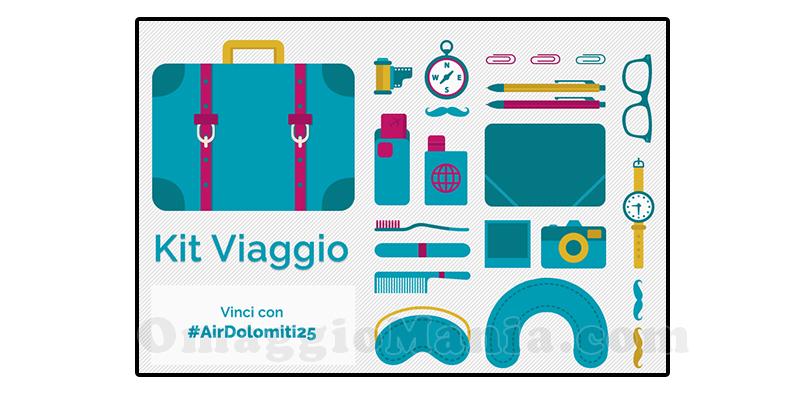 kit viaggio AirDolomiti25