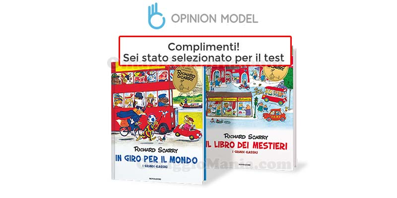 libri Richard Scarry tester selezionati Opinion Model