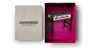 mini calcetto balilla box La Gazzetta dello Sport