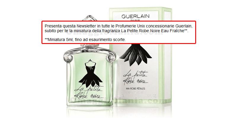 miniatura profumo Guerlain La Petite Robe Noire