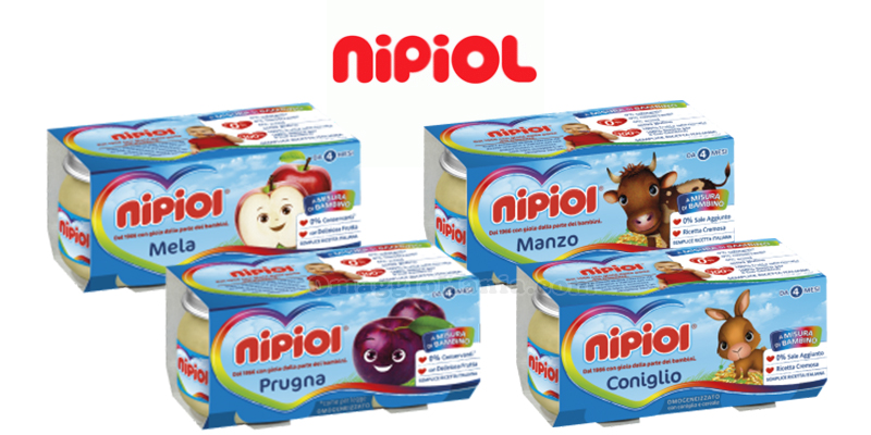 omogeneizzati Nipiol