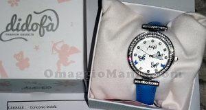orologio Didofà Papillon vinto da Elena