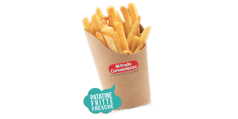 patatine fritte Mondo Convenienza