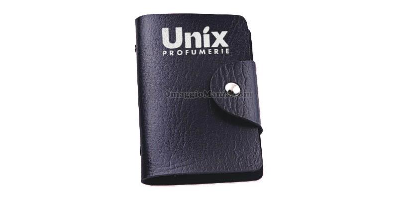 porta tessere omaggio da Unix Profumerie
