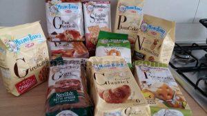 prodotti Mulino Bianco ricevuti gratis da Michela