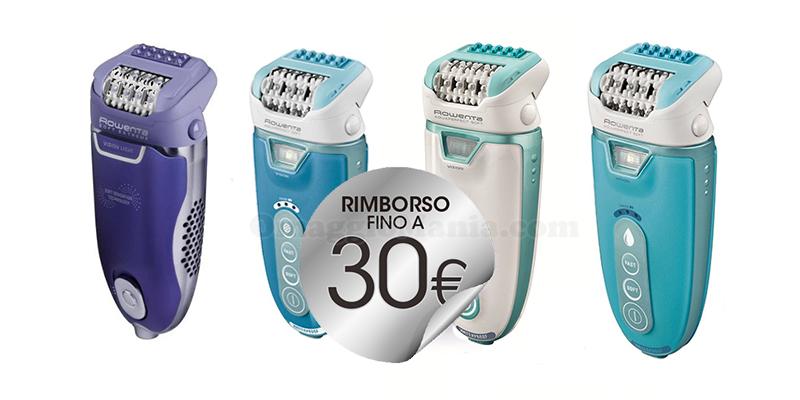 rimborso epilatori Rowenta 30 euro