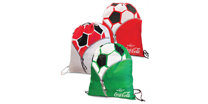 sacca sportiva Coca Cola