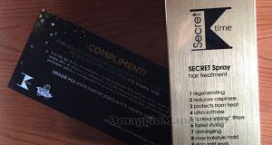 secret spray K-Time di Sara