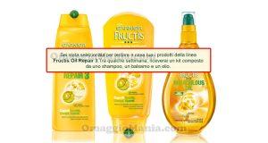 selezione tester Garnier Fructis Oil Repair 3