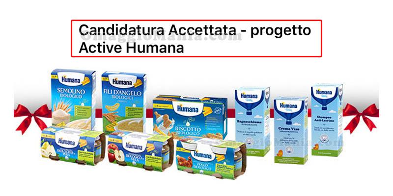 selezione tester prodotti Humana