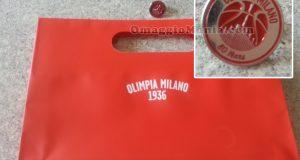 shopper e spilla Olimpia Milano di Sabry77
