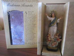 statuetta della Madonna Assunta di Lamù