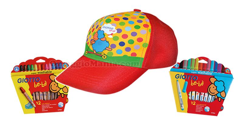 super cappellino Giotto be-bè omaggio