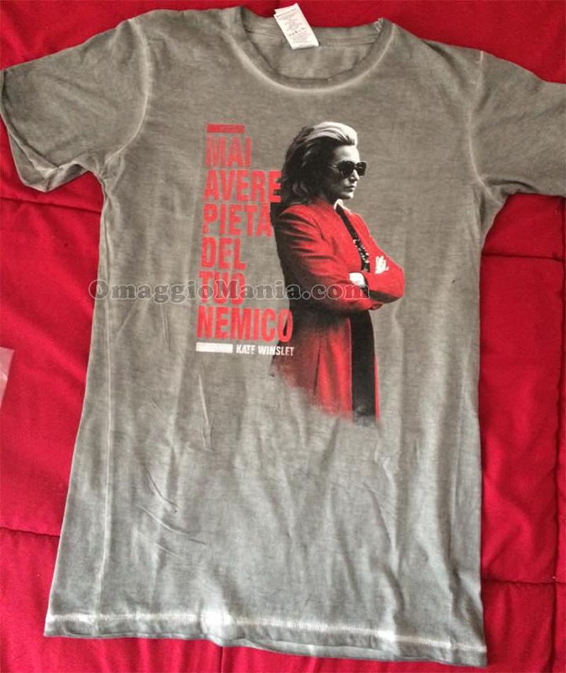 t-shirt codice 999 Kate Winslet di Ana