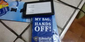 targhetta bagaglio Bavaria di Antonella