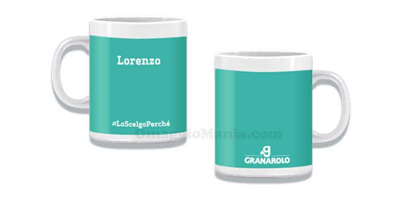 tazze Granarolo personalizzate