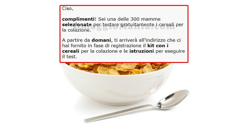 test Altroconsumo cereali per la colazione