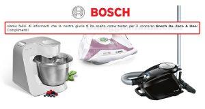 tester Bosch da Zero a Uno