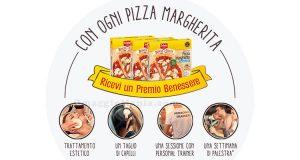 trattamento benessere omaggio con Pizza Margherita Schär