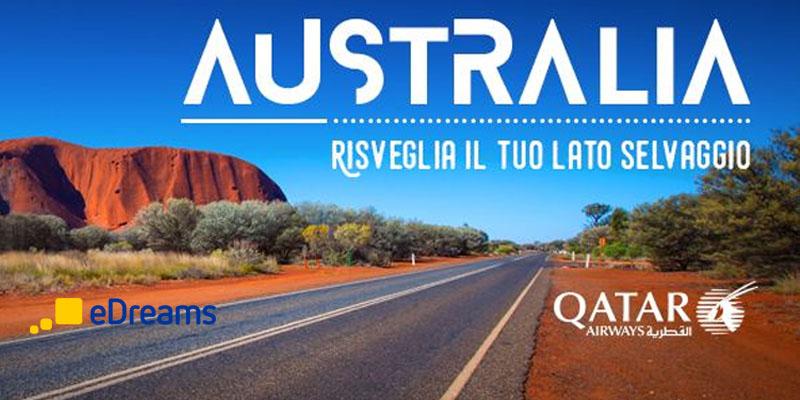 vinci l'Australia con eDreams