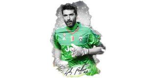 vinci maglietta Juventus autografata da Gigi Buffon