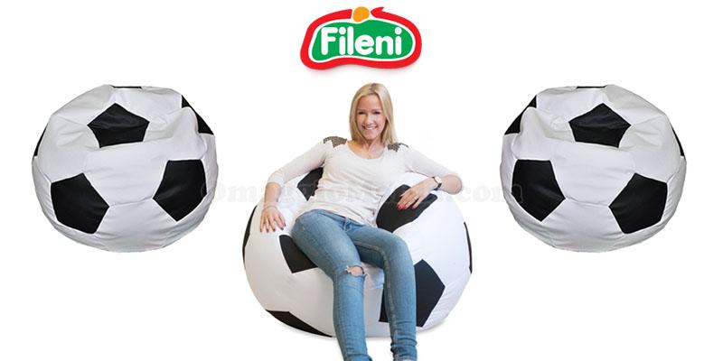 vinci poltrona pouf pallone con Fileni