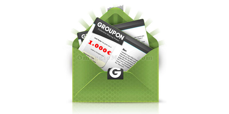 voucher Groupon fino a 1.000€