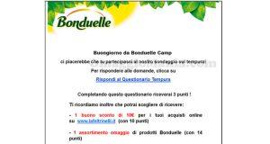 Bonduelle Camp sondaggio 30 giugno 2016