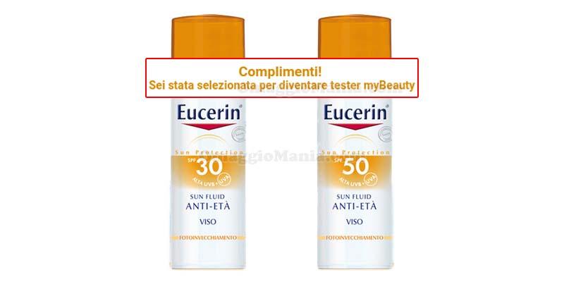 Eucerin Sun Fluid tester selezionati