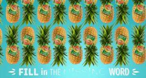 FruitFunFriday Del Monte parola mancante 17-06-2016