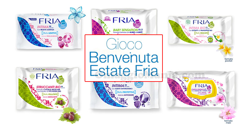 Gioco Benvenuta Estate FRIA