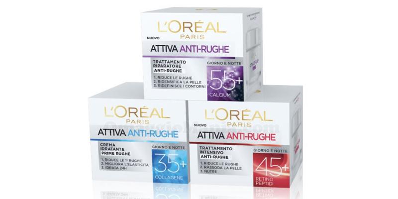 L'Oréal Attiva Anti-Rughe