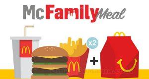 McFamily Meal McDonald's