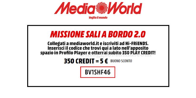 MediaWorld missione sali a bordo 2.0