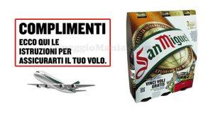 San Miguel Vinci Voli Gratis email di conferma