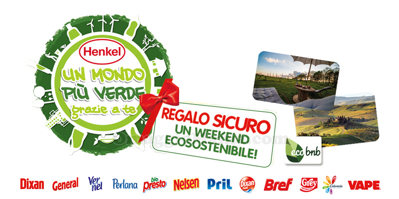 Un Mondo Più Verde Henkel weekend sostenibile regalo sicuro