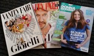 Vanity Fair 23 e Donna Moderna 25 di Bonnie