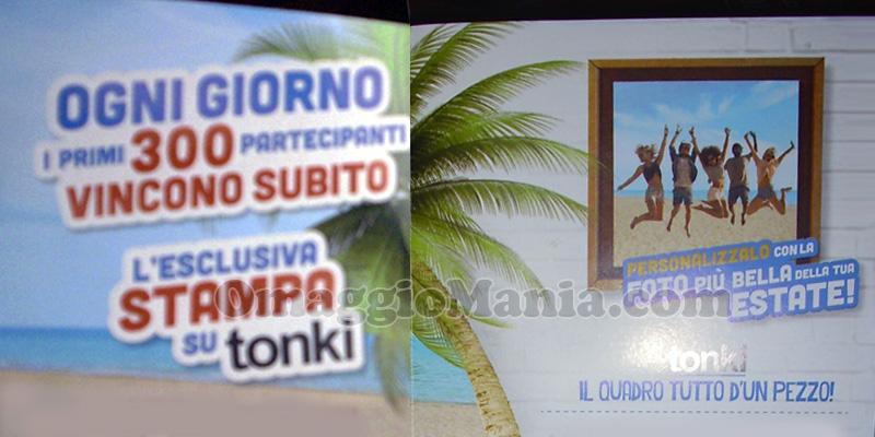 anticipazione concorso Estathé stampa su tonki