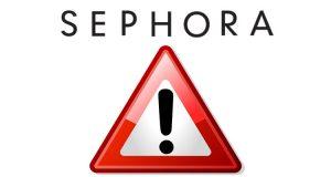 attenzione Sephora