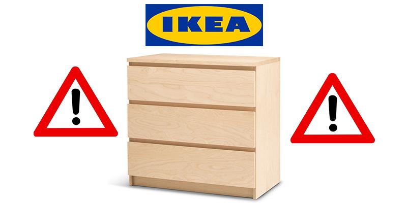 attenzione cassettiera IKEA