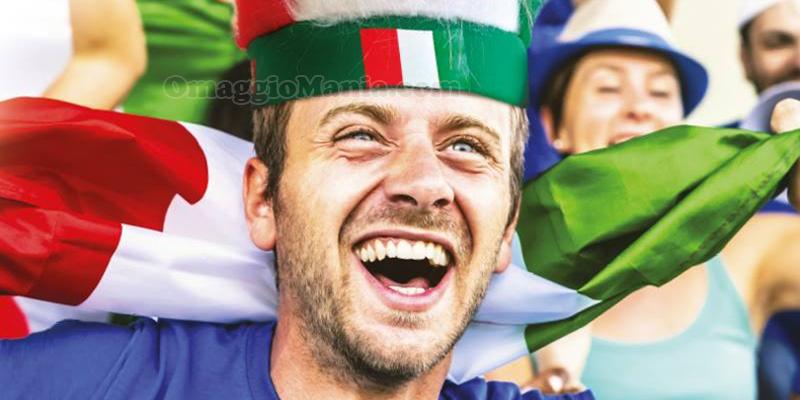 bandana Italia San Carlo omaggio