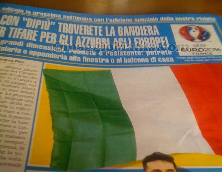bandiera Italia con DiPiù