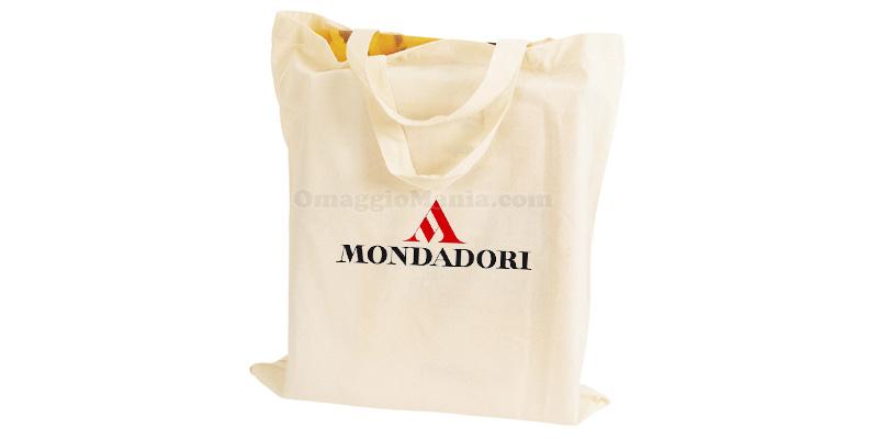 borsa in stoffa Mondadori omaggio