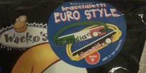 braccialetti Euro Style con Wacko's