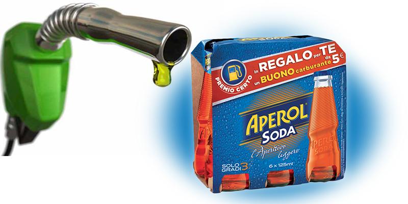 buoni carburante omaggio con Aperol Soda