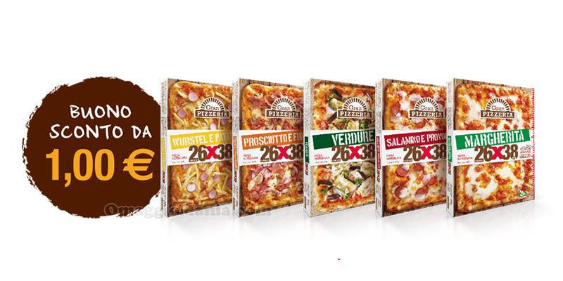 buoni sconto pizze Gran Pizzeria 26x38