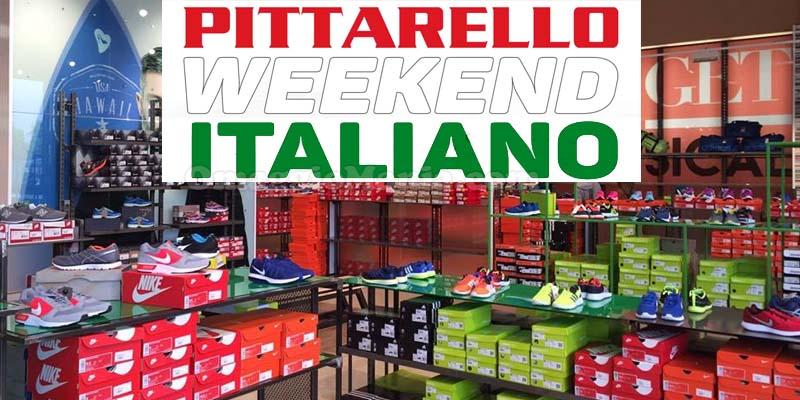 buono sconto Pittarello Weekend Italiano